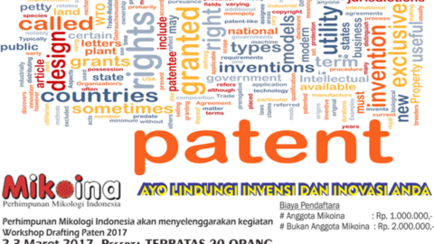 Workshop Drafting Paten 2017